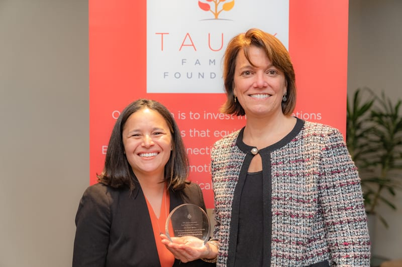 Mirellise Vazquez and Liz Walters at the 2018 Tauck Family Foundation Cohort Gathering